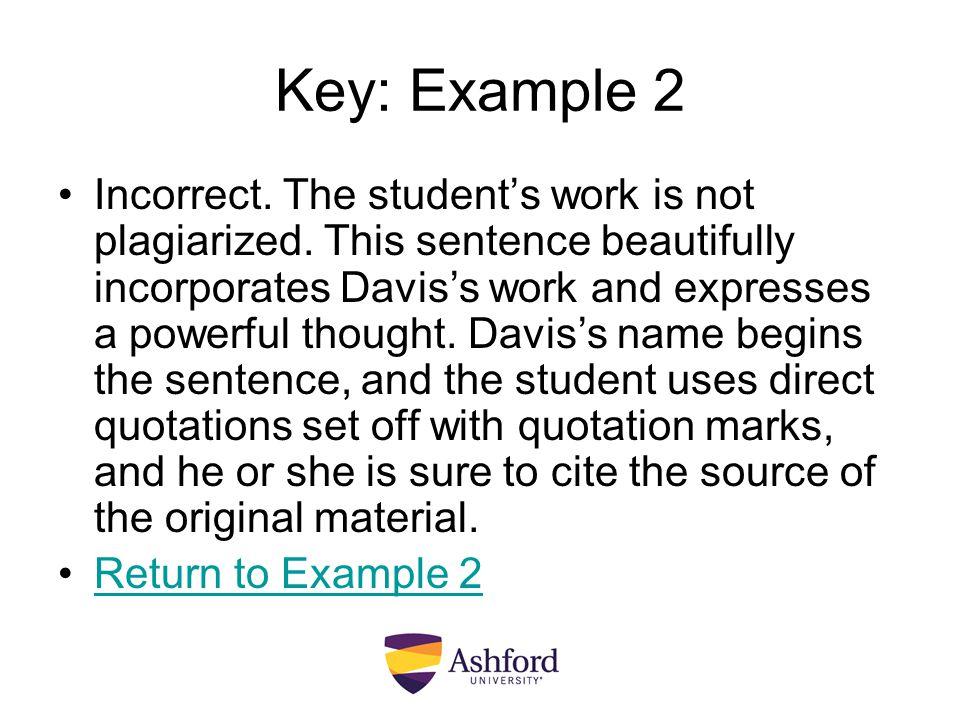 Key: Example 2
