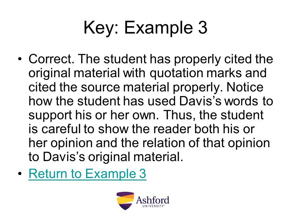 Key: Example 3