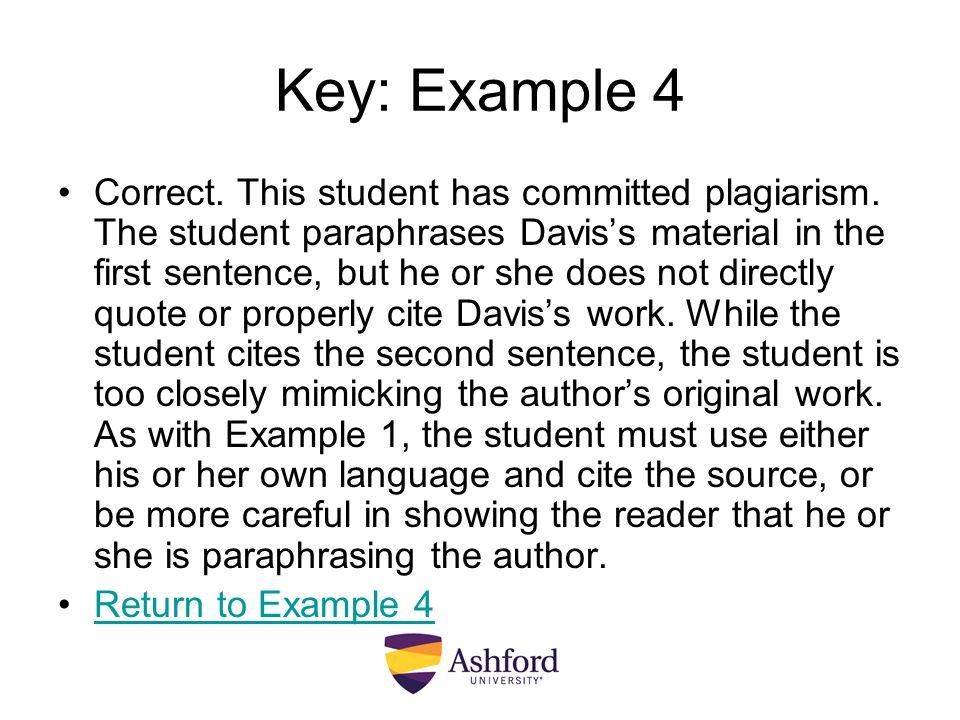 Key: Example 4