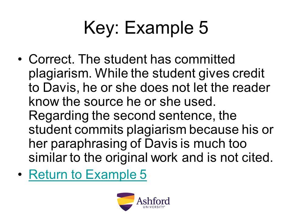 Key: Example 5
