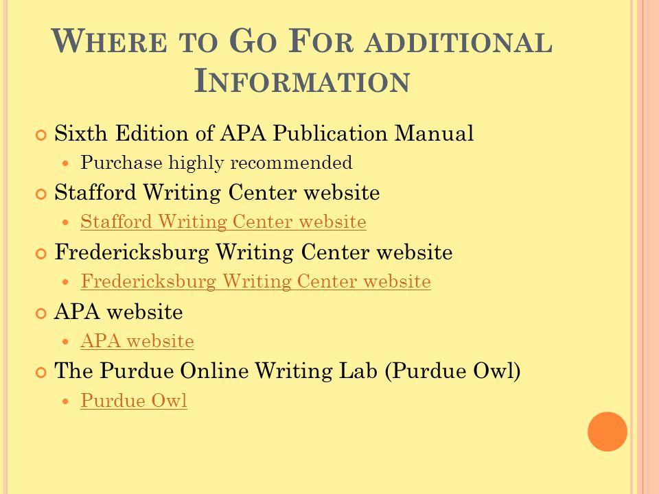 owl writing center