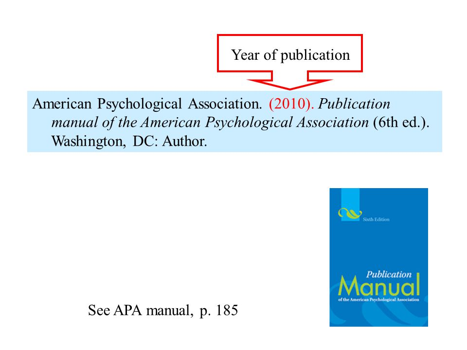 Year of publication field