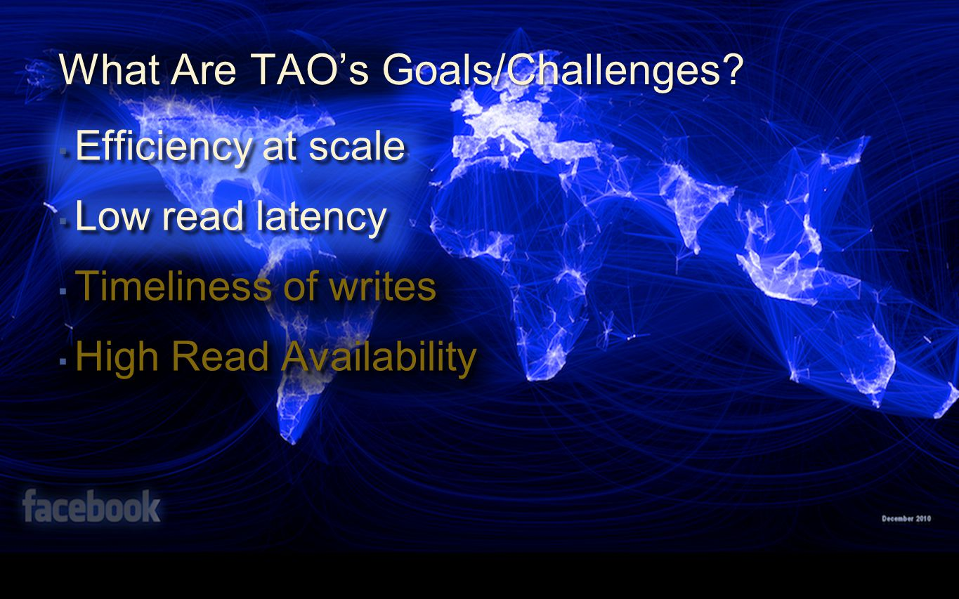 What Are TAO's Goals/Challenges