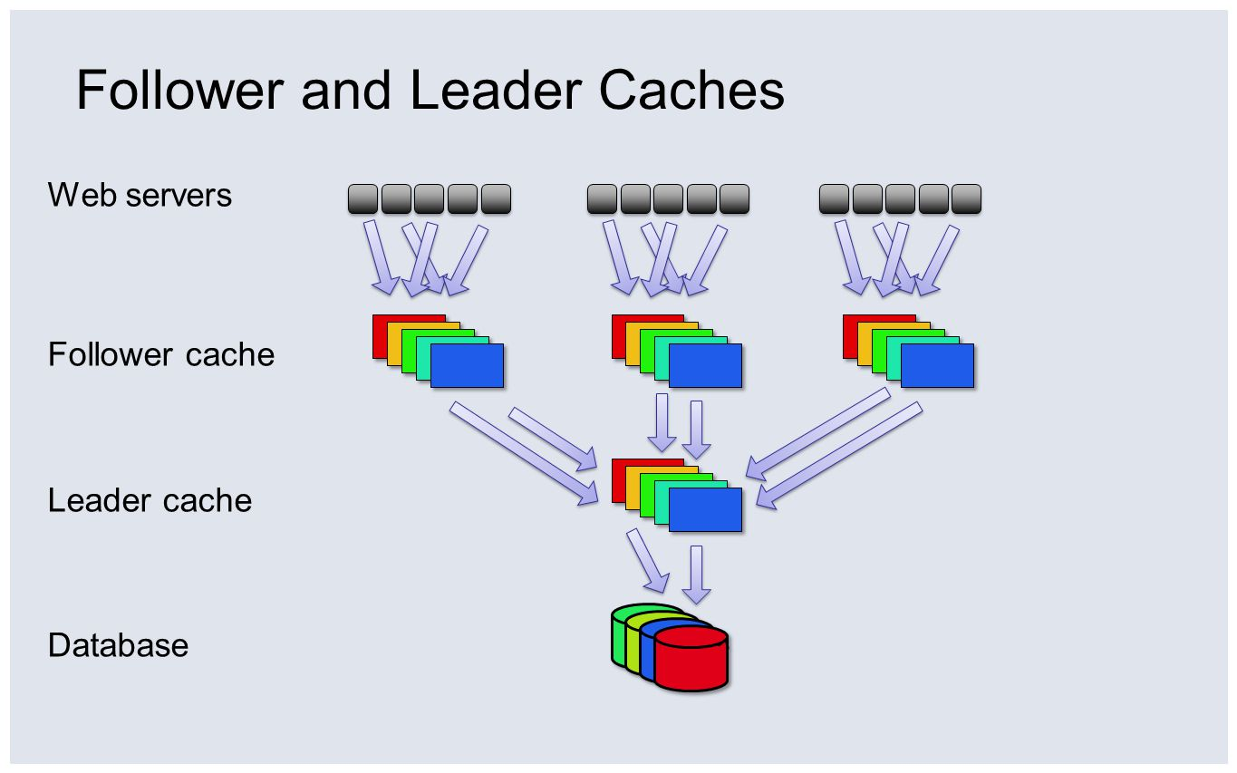 Follower and Leader Caches