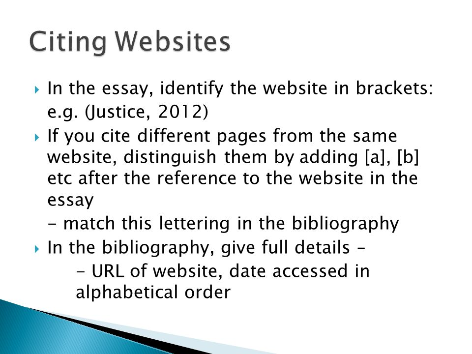 siting websites of essays Apa essay checklist for students the american psychological association (apa) is one of the largest scientific and professional associations in the united states, and it has created a set of citation rules and formatting guidelines for scholarly writing to ensure a professional standard of academic integrity.