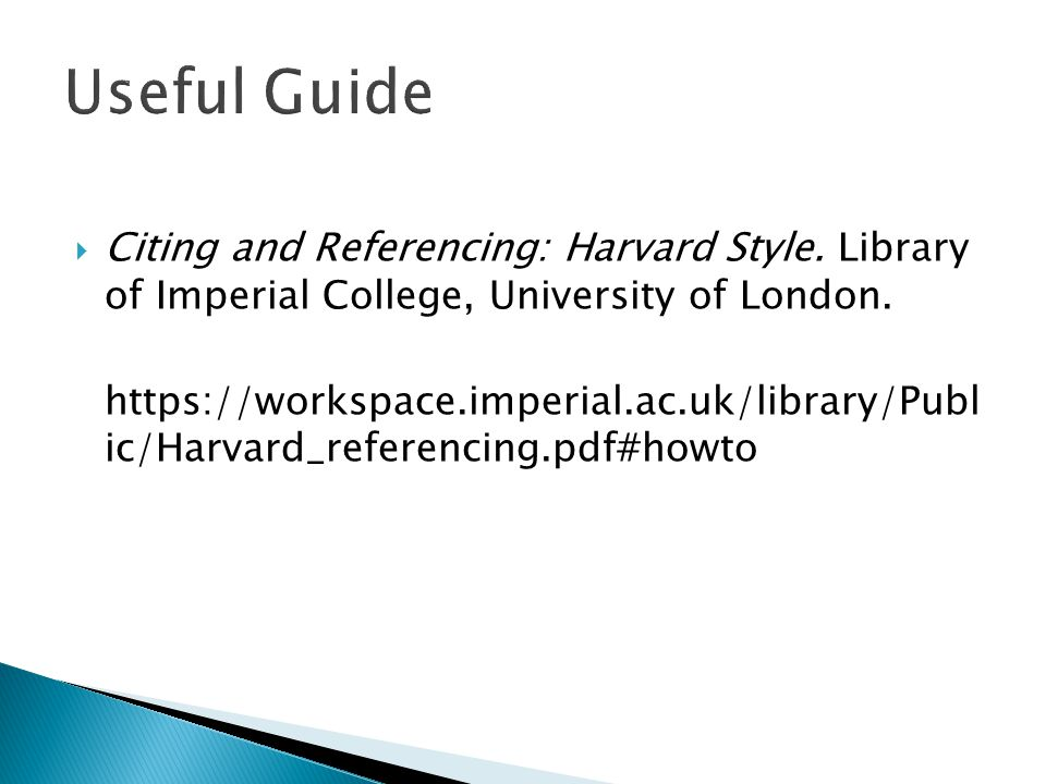 harvard citation style all examples t