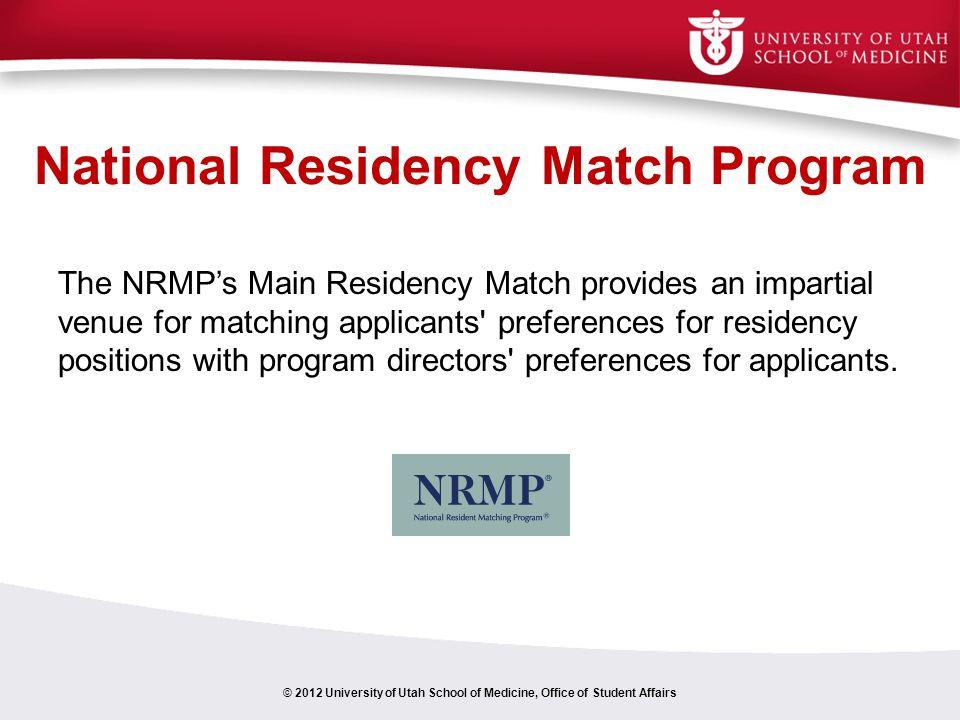 National Residency Match Program