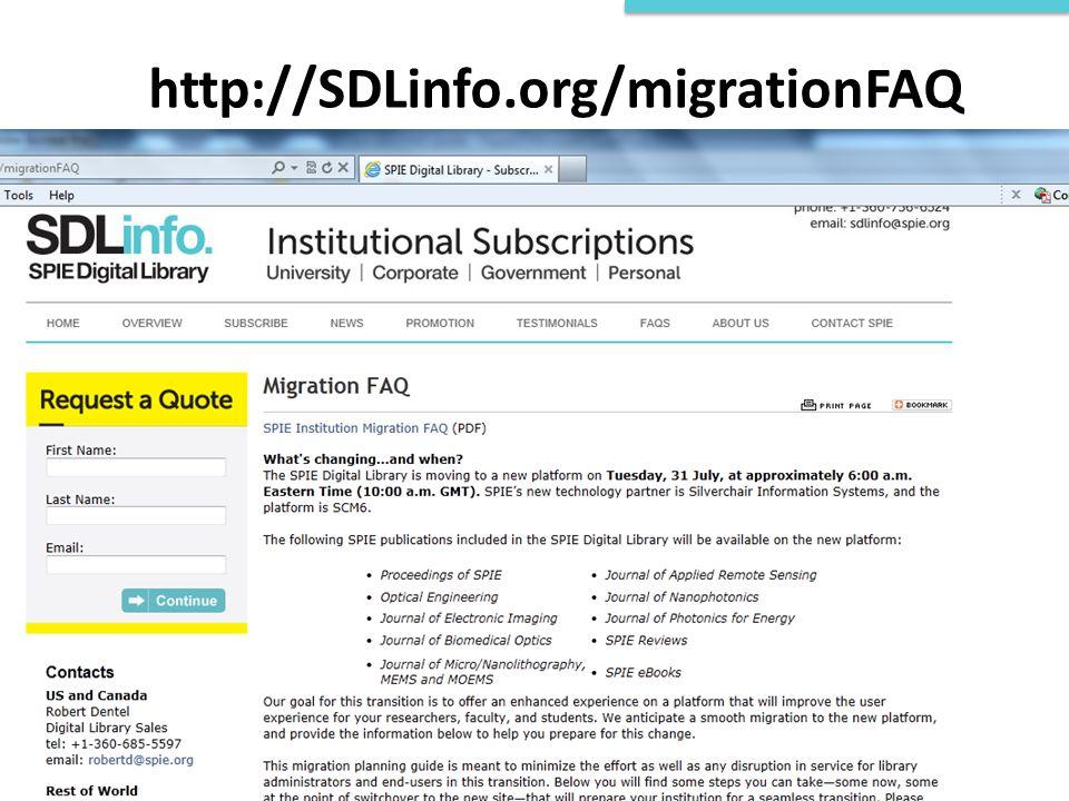 http://SDLinfo.org/migrationFAQ