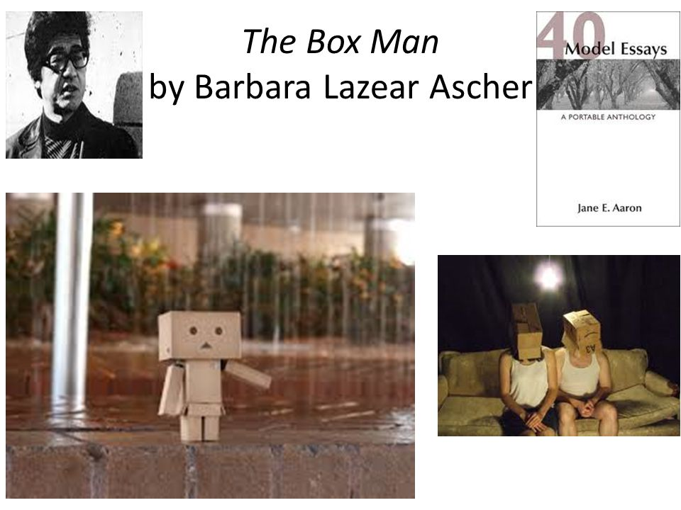The Box Man by Barbara Lazear Ascher