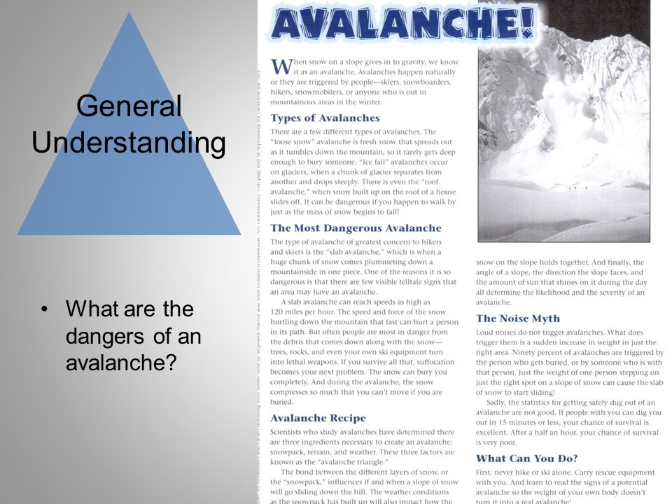 General Understanding