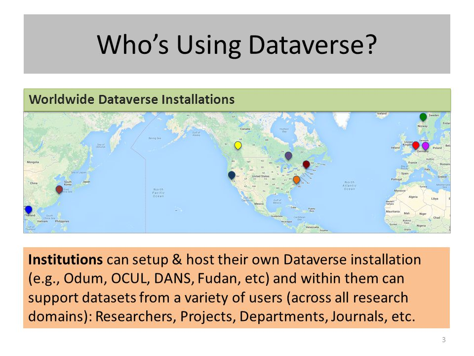Who's Using Dataverse Worldwide Dataverse Installations.