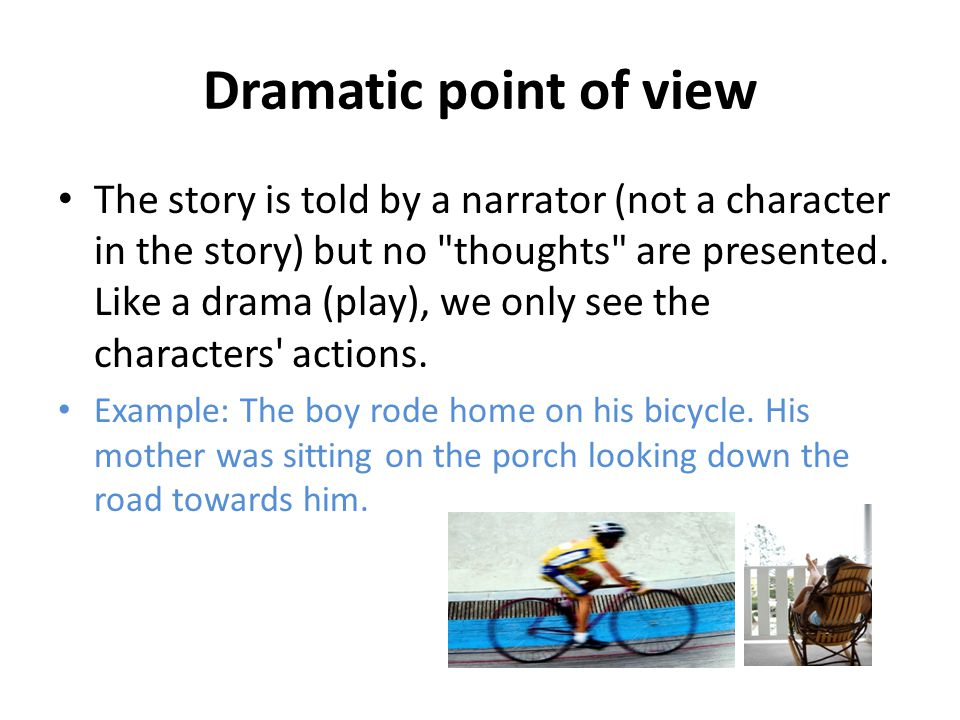 The Dramatic Point Of View Coursework Help