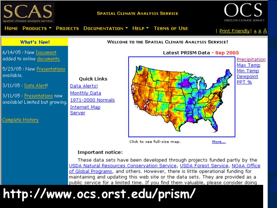 http://www.ocs.orst.edu/prism/