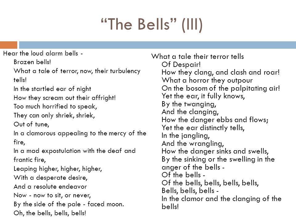 The Bells (III)