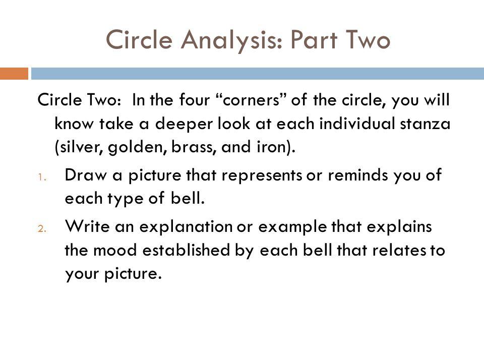 Circle Analysis: Part Two