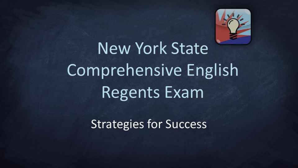 New York State Comprehensive English Regents Exam