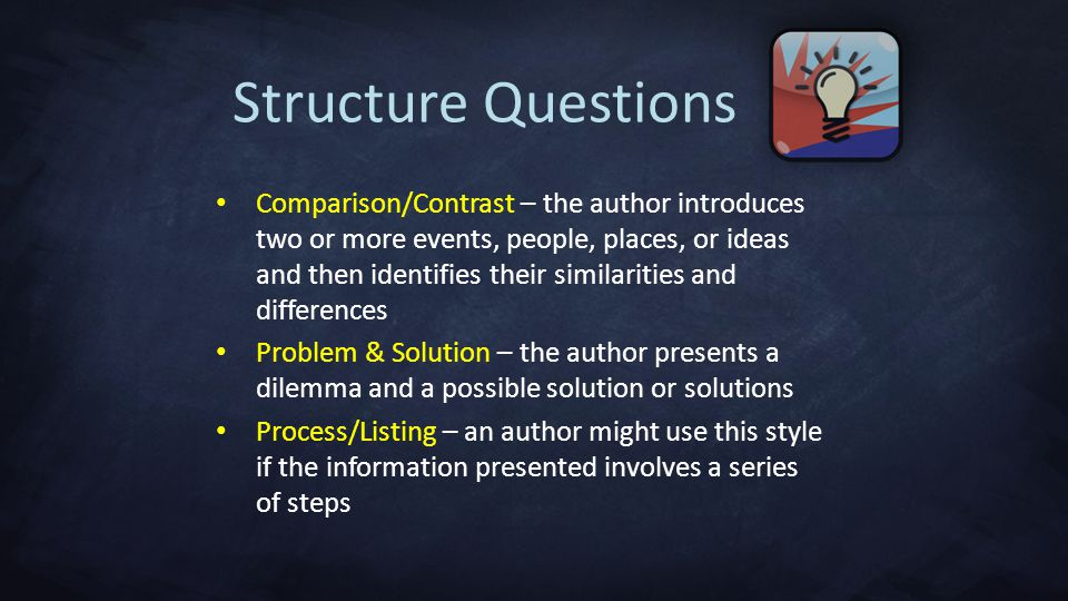 Structure Questions