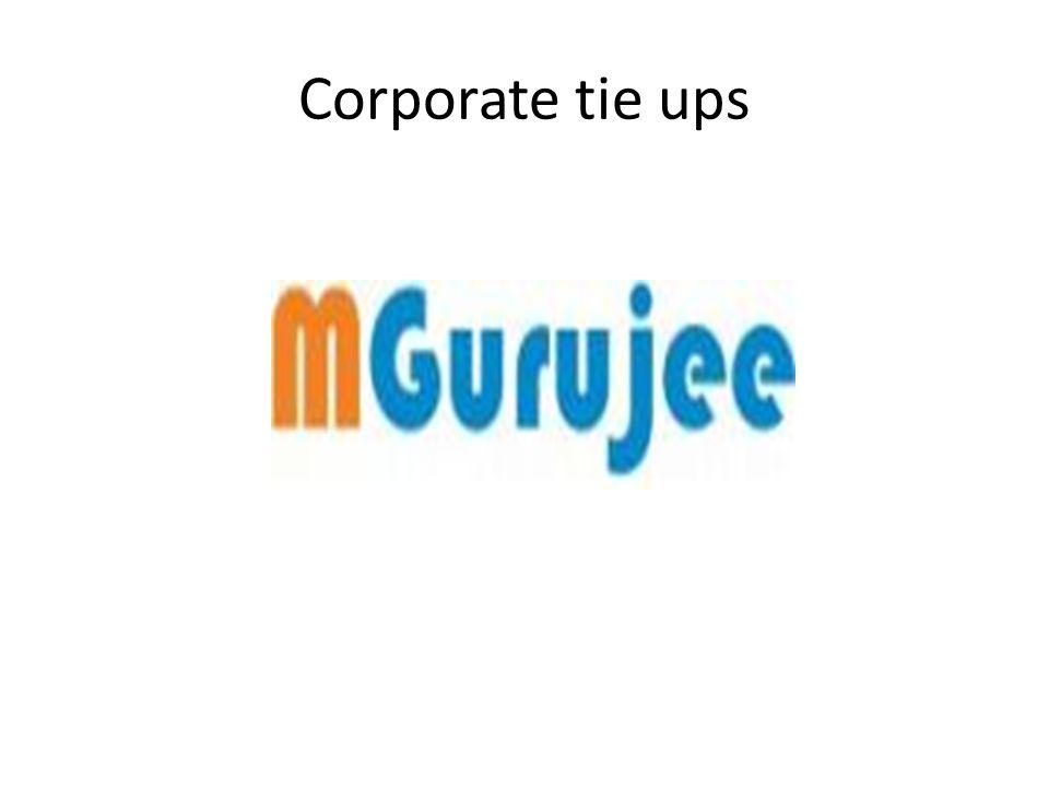 Corporate tie ups