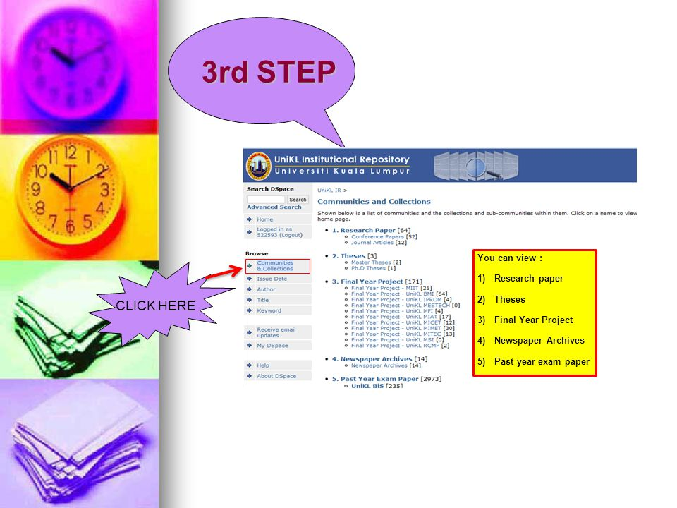 3rd STEP CLICK HERE You can view : Research paper Theses