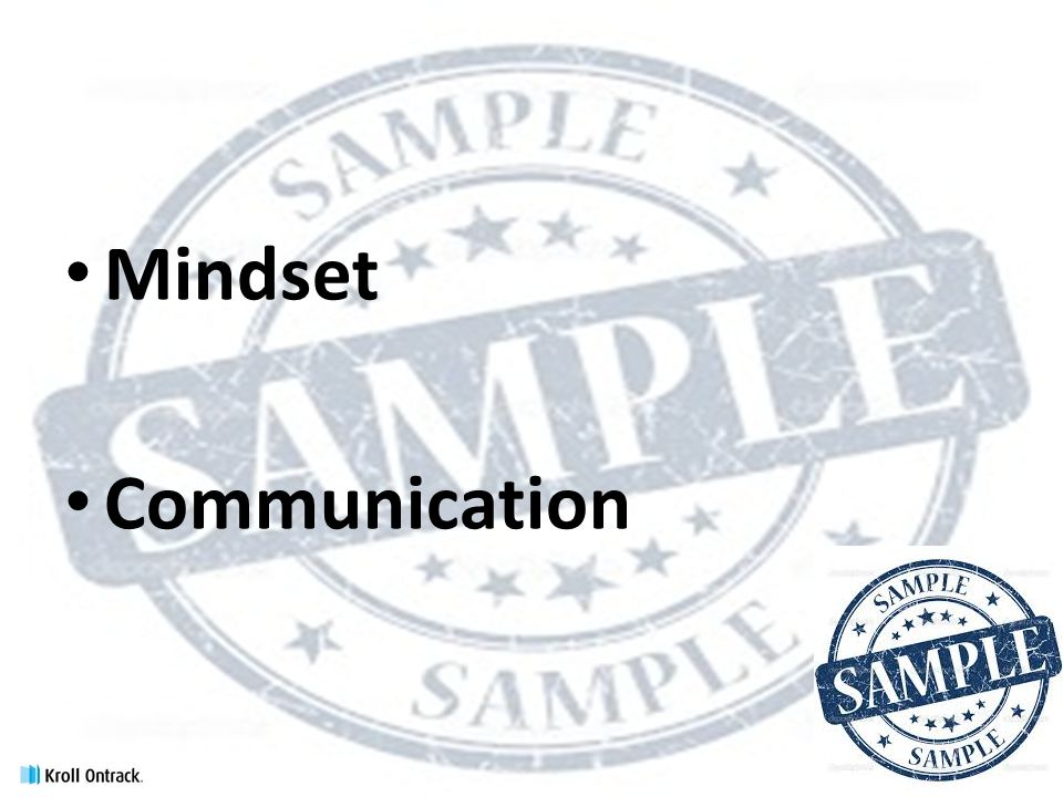Mindset Communication