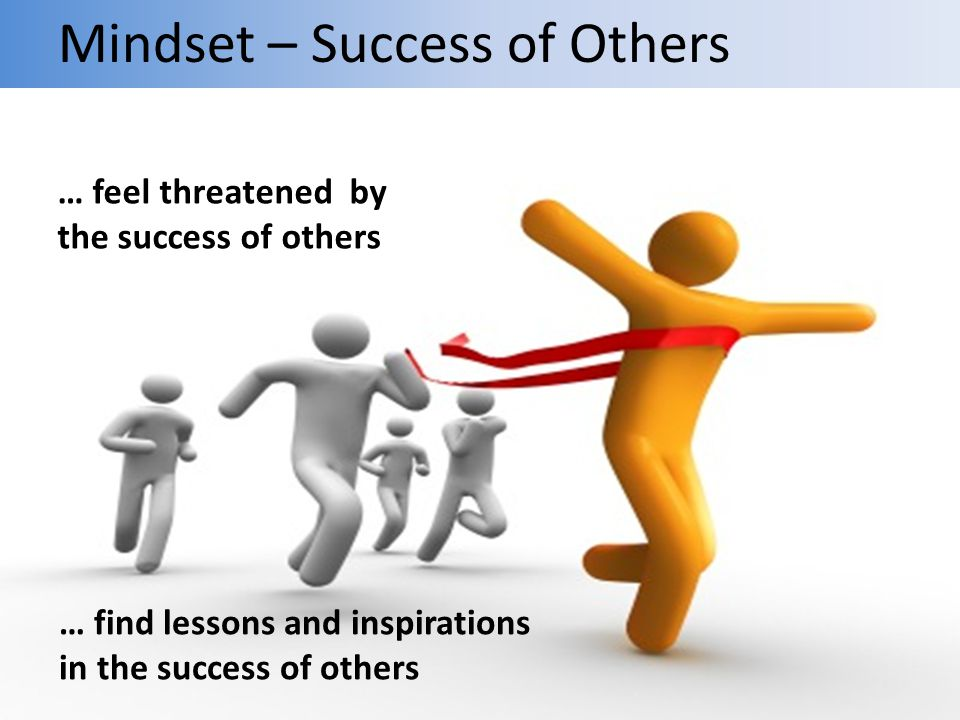 Mindset – Success of Others
