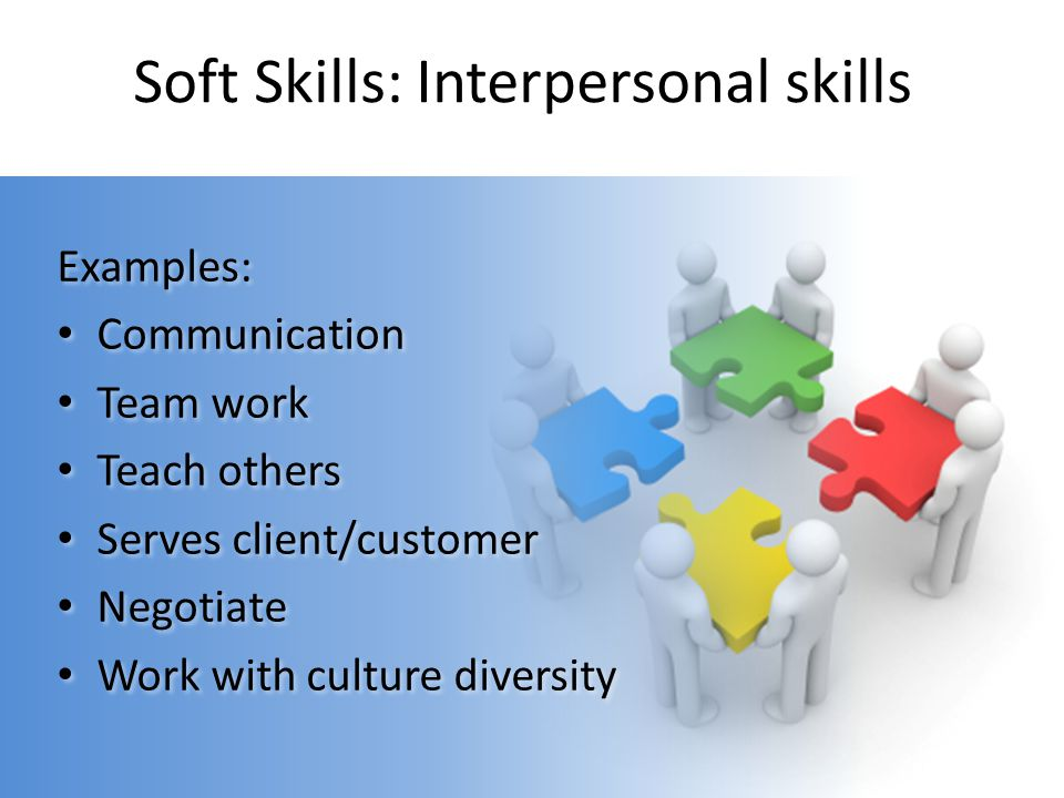 Soft Skills: Interpersonal skills