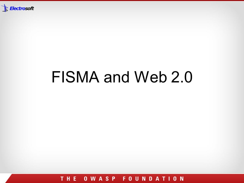 FISMA and Web 2.0