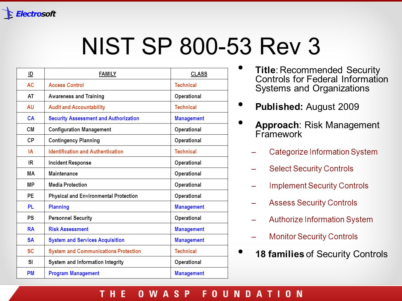 nist sp 800 18 template - protecting federal government from web 2 0 application