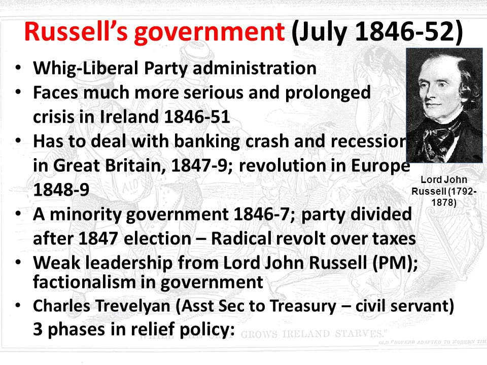 Russell's government (July 1846-52)