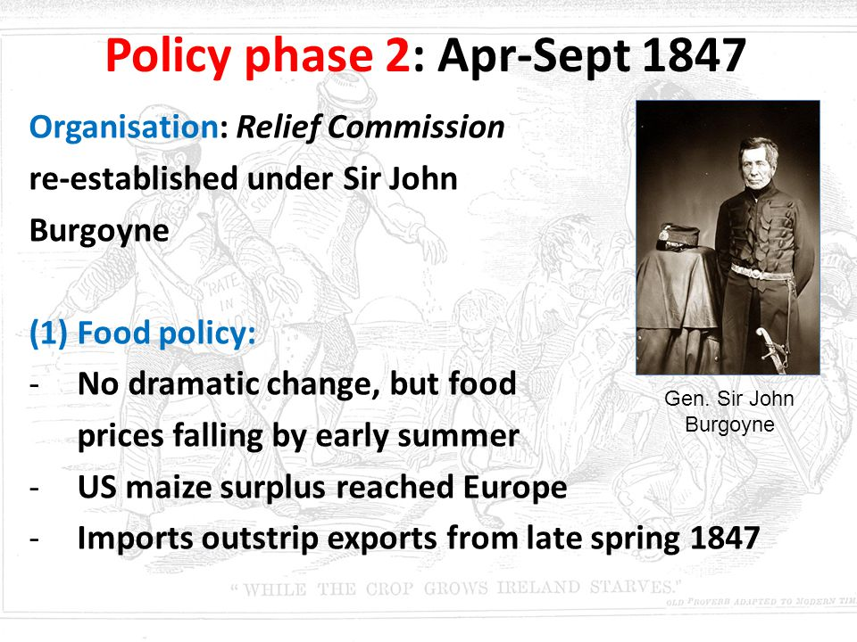 Policy phase 2: Apr-Sept 1847