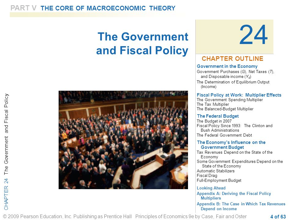 24 The Government and Fiscal Policy