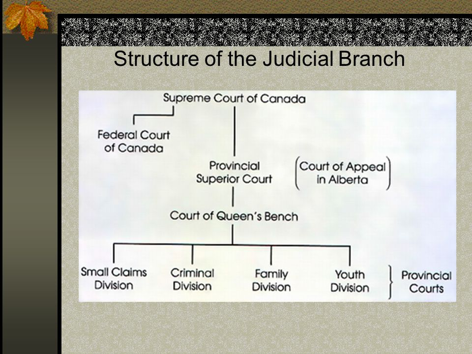 Structure of the Judicial Branch