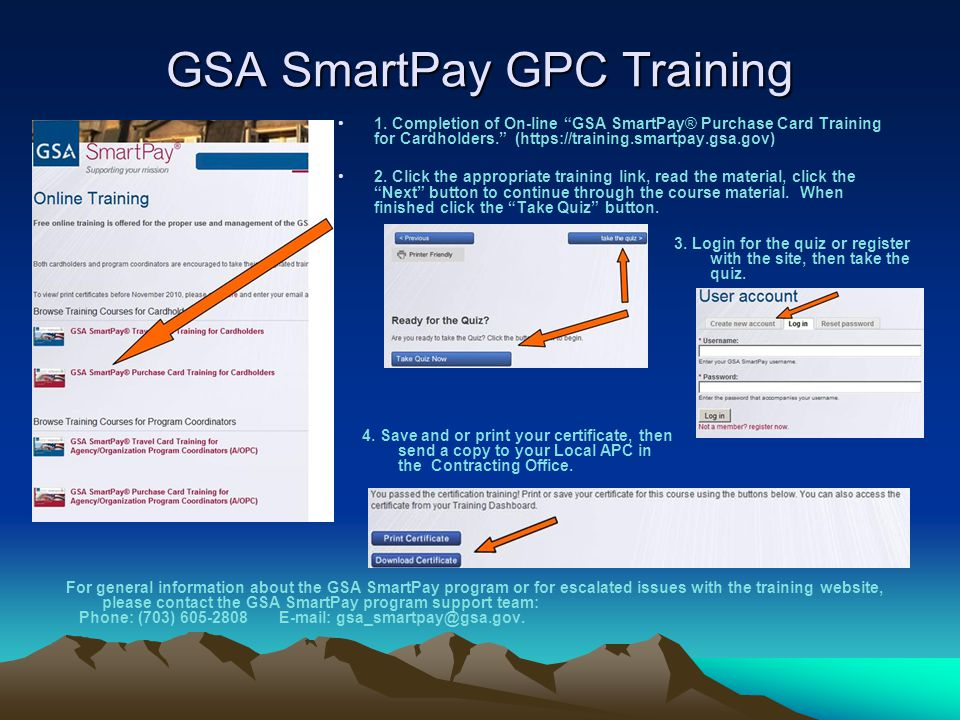 GSA SmartPay GPC Training