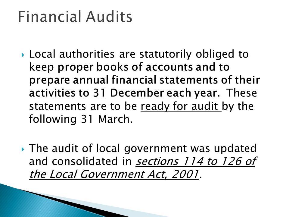 Financial Audits