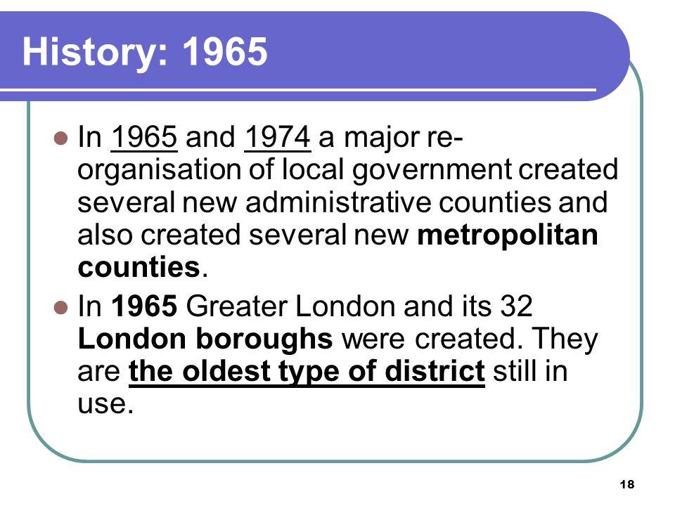 History: 1965