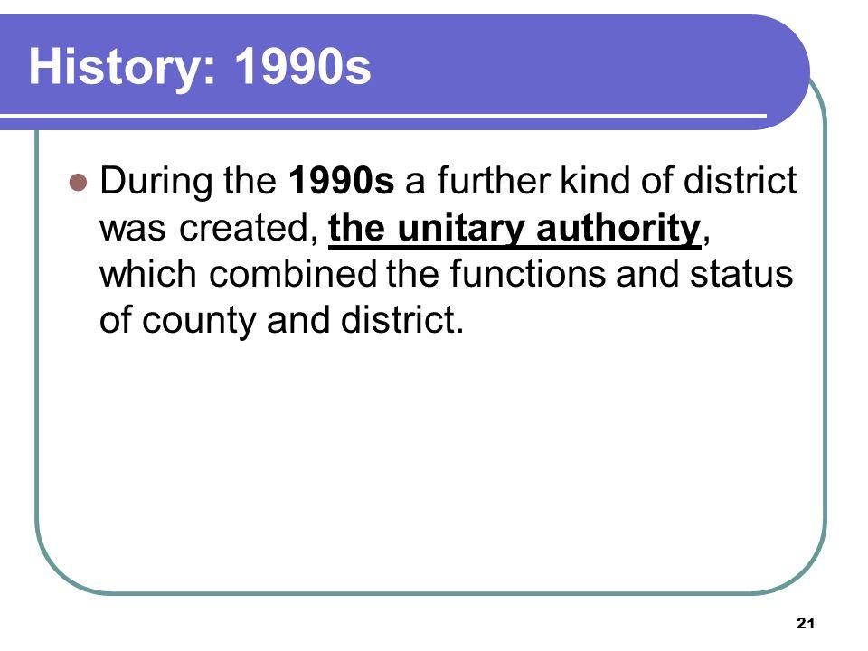 History: 1990s