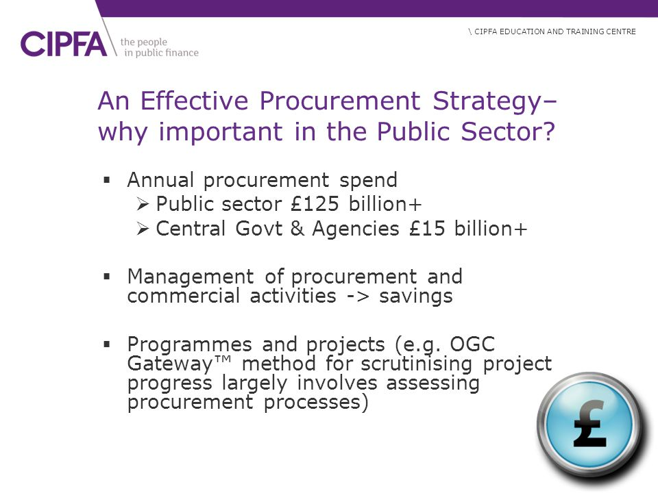 An Effective Procurement Strategy– why important in the Public Sector