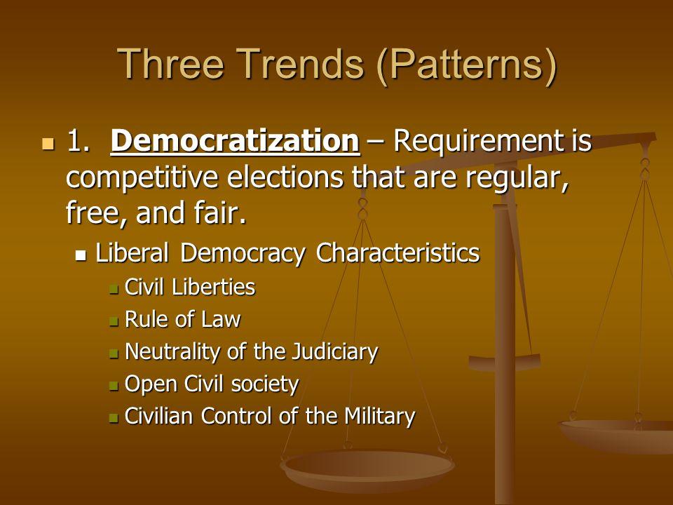Three Trends (Patterns)