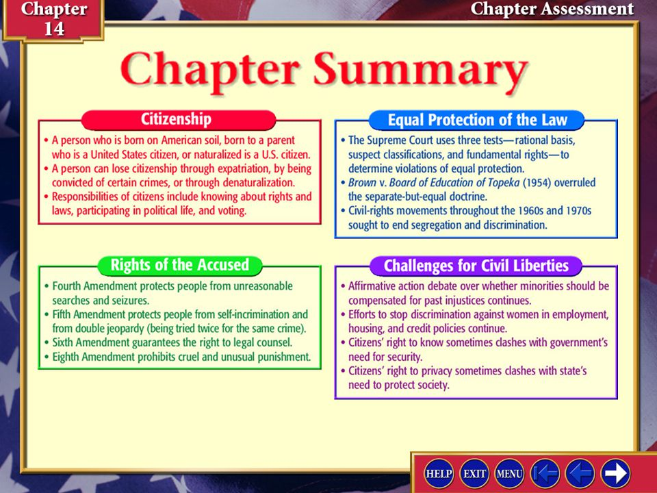 Chapter Assessment 1