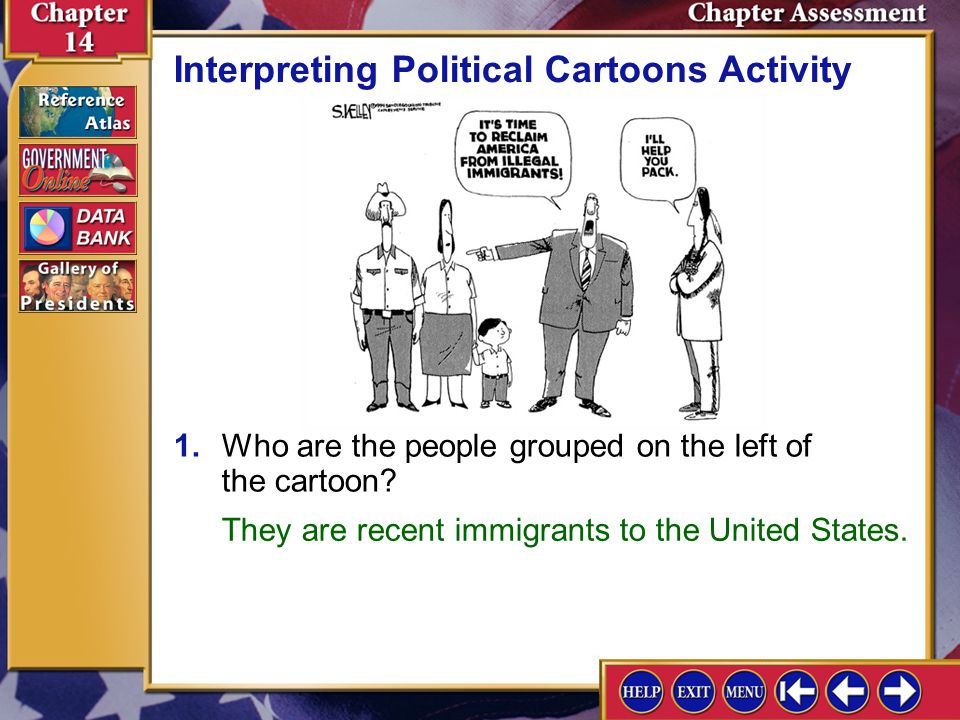 Interpreting Political Cartoons Activity