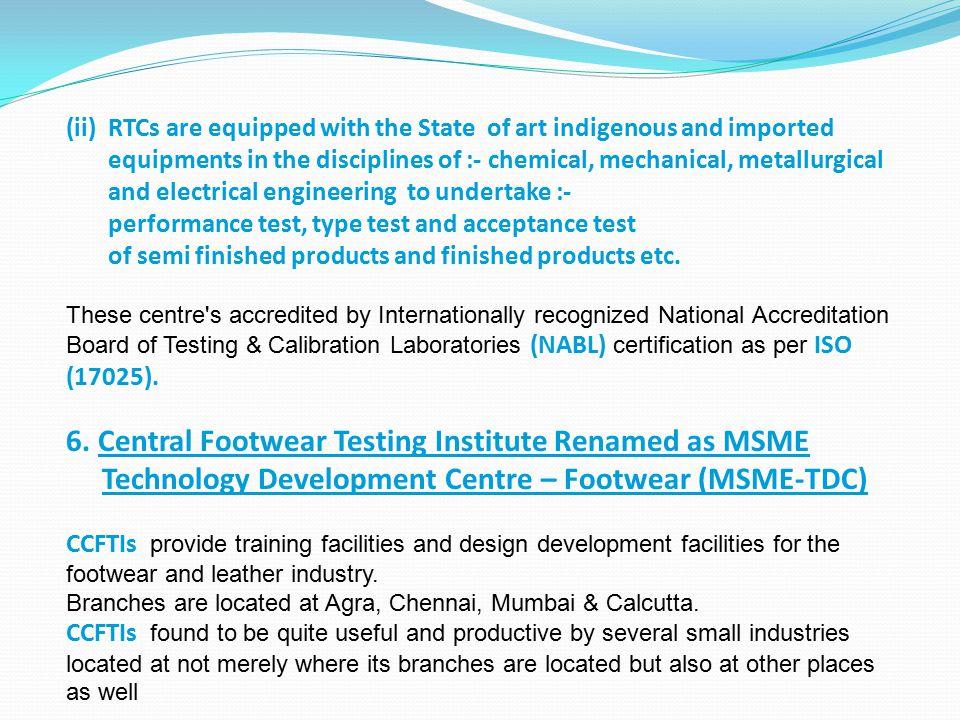 6. Central Footwear Testing Institute Renamed as MSME