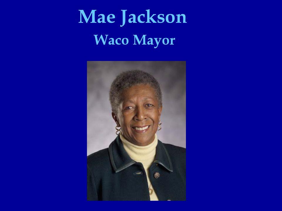 Mae Jackson Waco Mayor