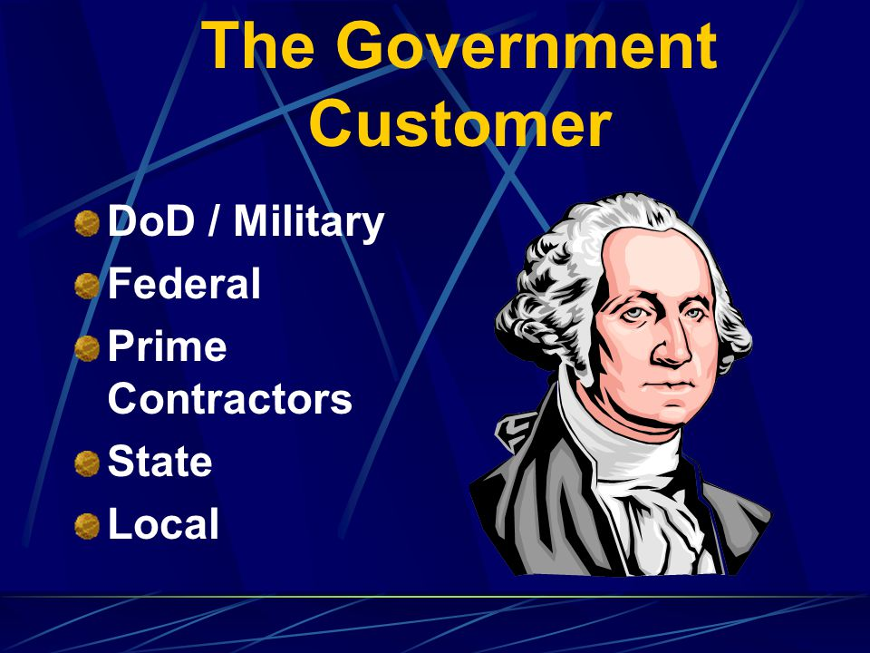 The Government Customer