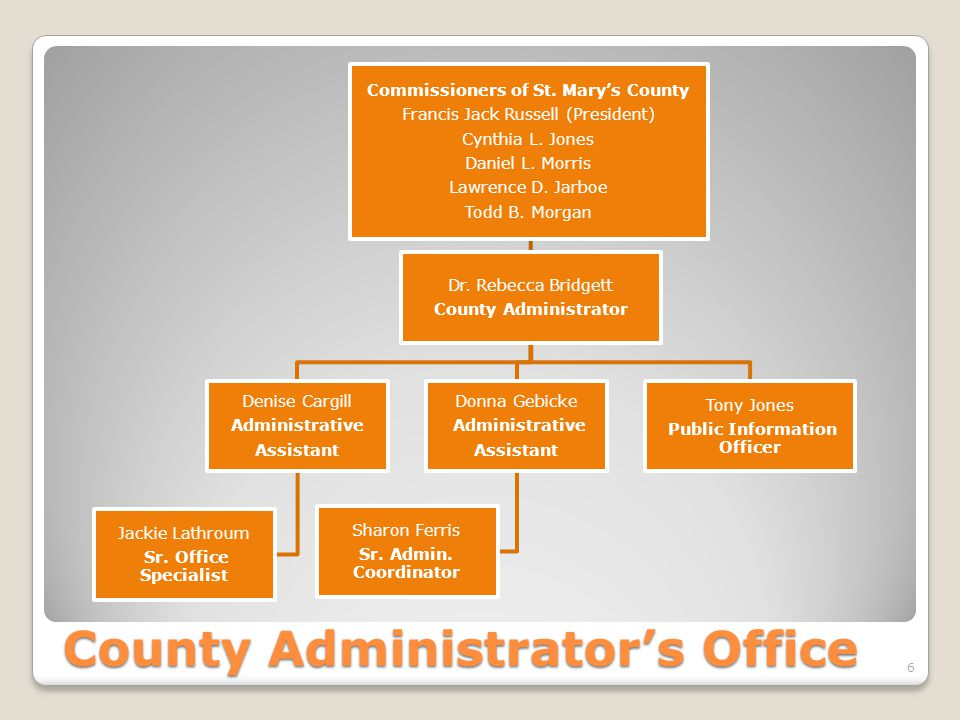 County Administrator's Office