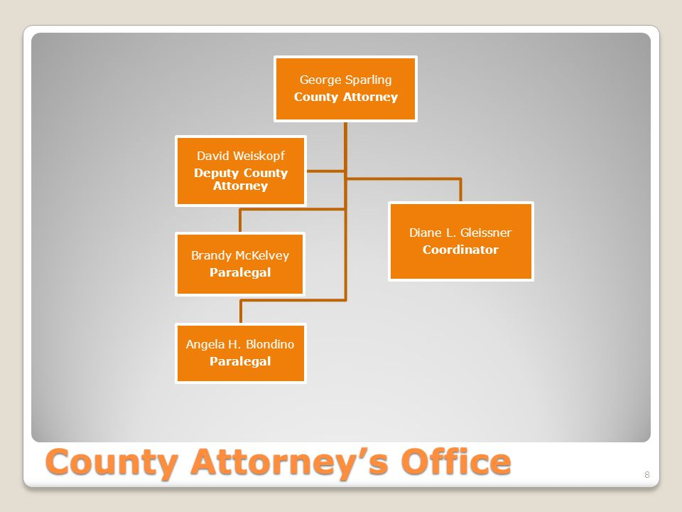 County Attorney's Office