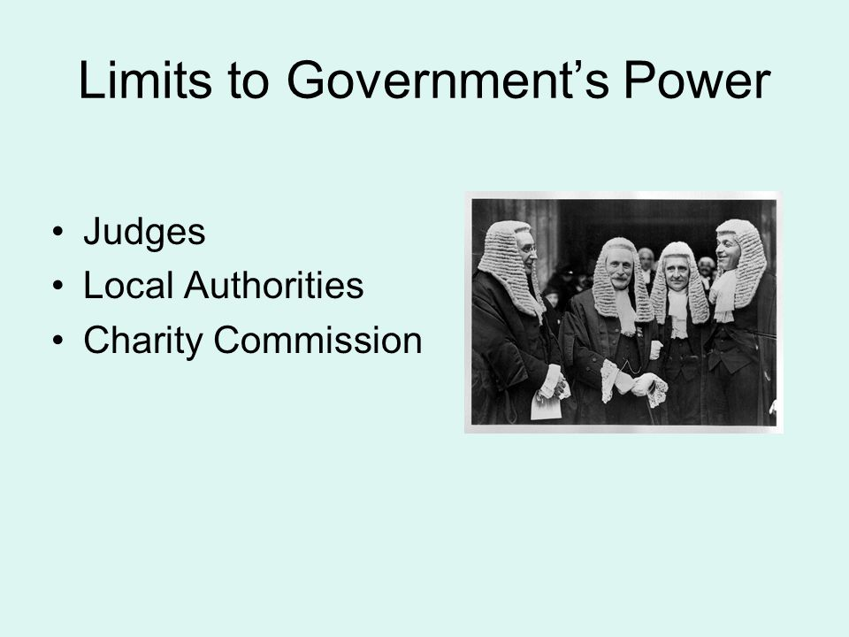 Limits to Government's Power