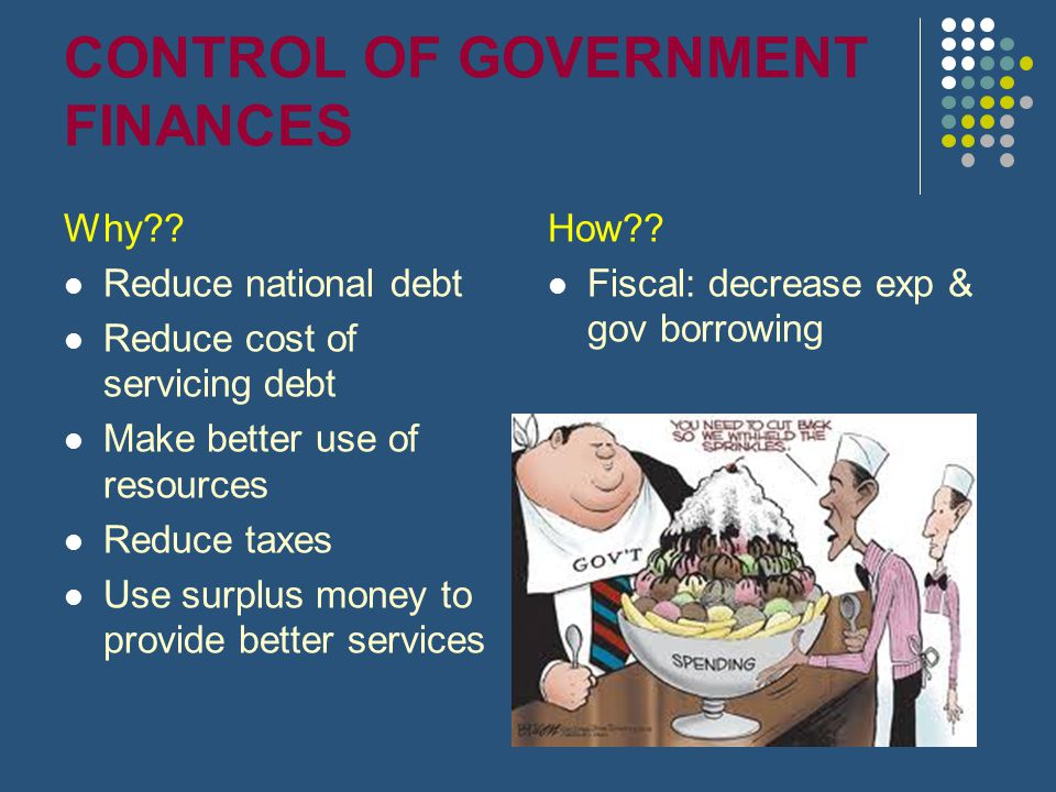 CONTROL OF GOVERNMENT FINANCES