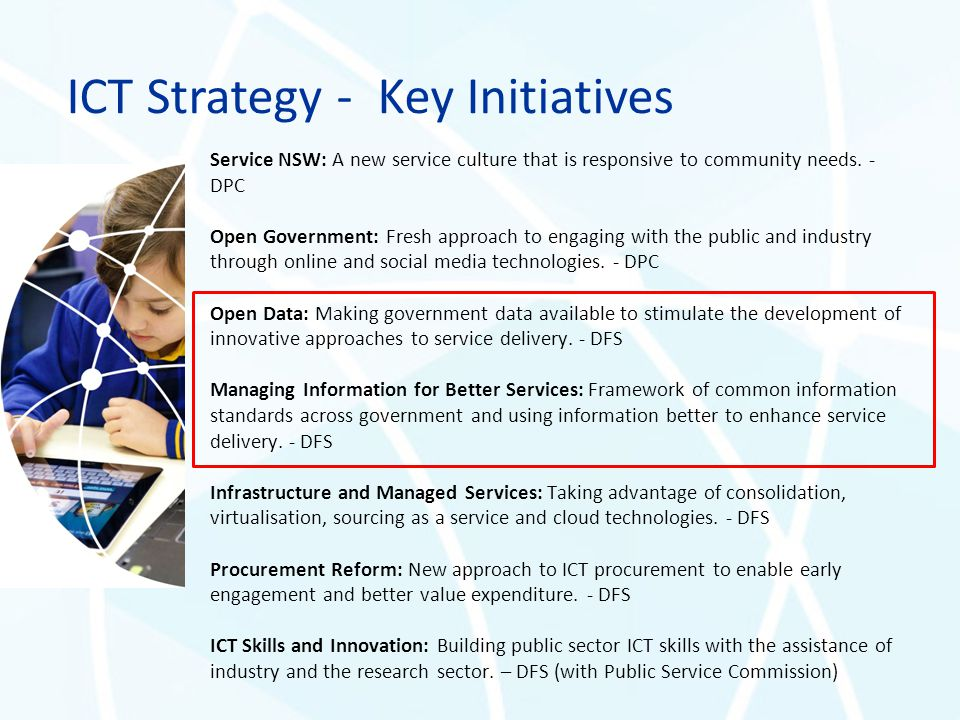 ICT Strategy - Key Initiatives