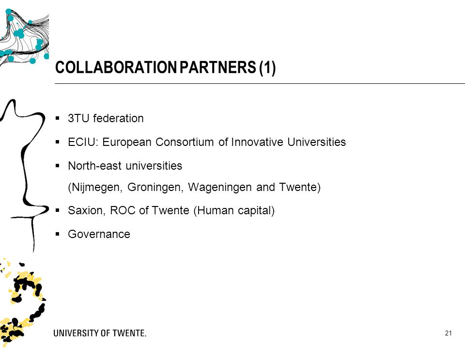 COLLABORATION PARTNERS (1)