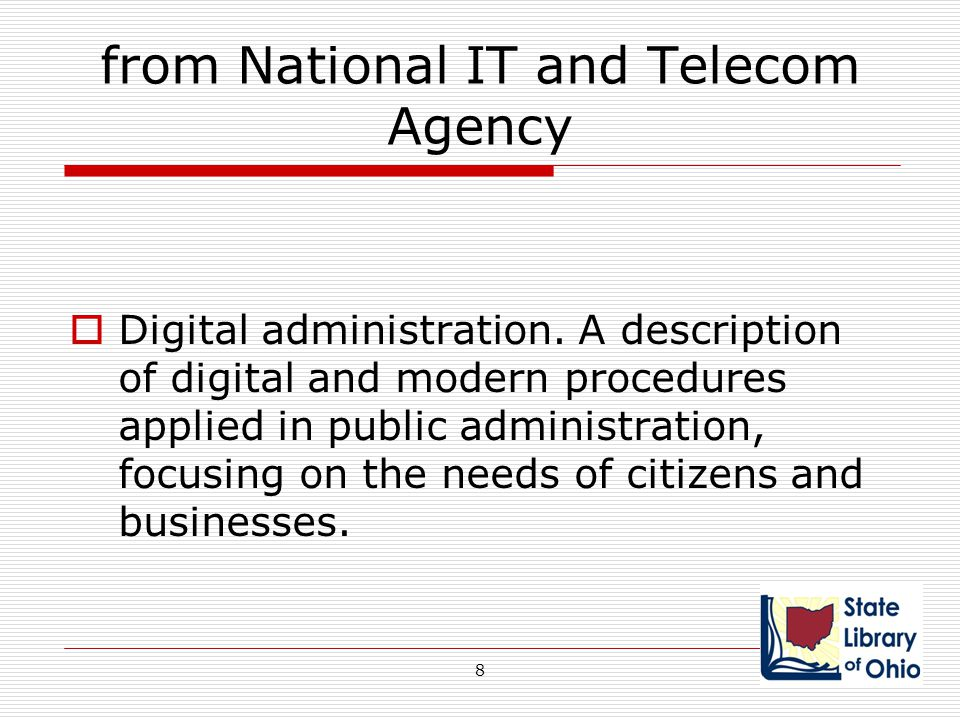 from National IT and Telecom Agency